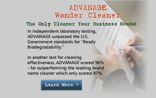 "In independent laboratory testing, ADVANAGE surpassed the U.S. Government standards for ""Ready Biodegradability."""